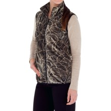 Royal Robbins Moon Dance Vest - UPF 50+, Velvet Fleece (For Women) in Jet Black - Closeouts