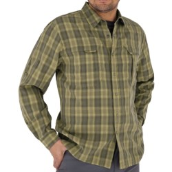 Royal Robbins Morocco Plaid Shirt - UPF 50+, Long Sleeve (For Men) in Turkish Coffee