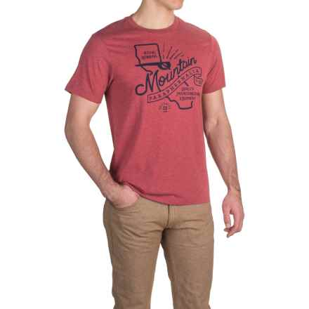 Royal Robbins Mountain Paraphernalia T-Shirt - Crew Neck, Short Sleeve (For Men) in Cardinal - Closeouts