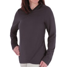 Royal Robbins Mountain Velvet Hoodie Sweatshirt - UPF 50+ (For Women) in Basalt - Closeouts