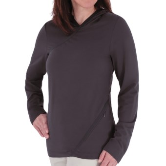 Royal Robbins Mountain Velvet Hoodie Sweatshirt - UPF 50+ (For Women) in Basalt