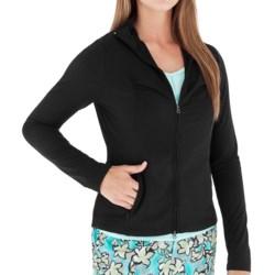 Royal Robbins Mountain Velvet Jacket - UPF 50+, Full Zip (For Women) in Jet Black