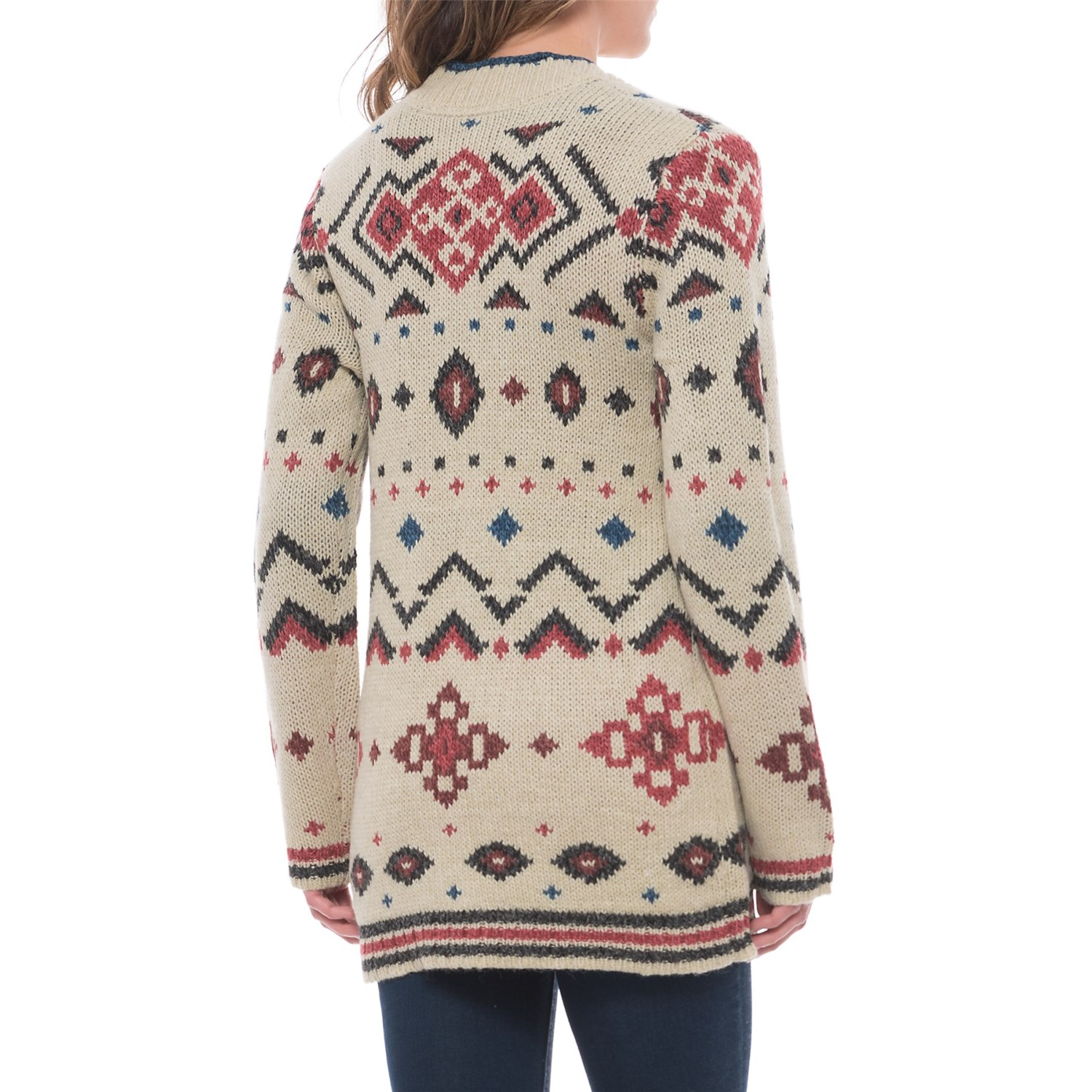 Royal Robbins Mystic Andes Chunky-Knit Cardigan Sweater (For Women ...