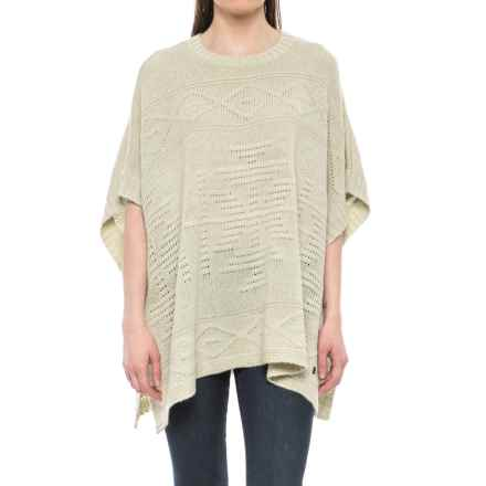 Royal Robbins Mystic Andes Poncho (For Women) in Creme - Closeouts