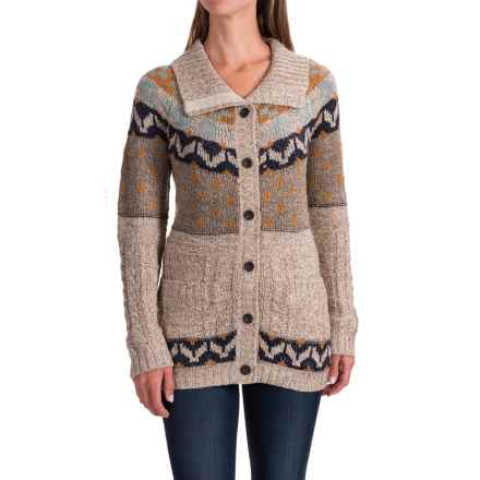 Royal Robbins Mystic Button Cardigan Sweater (For Women) in Oatmeal - Closeouts
