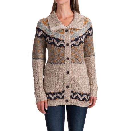 Image of Royal Robbins Mystic Button Cardigan Sweater (For Women)