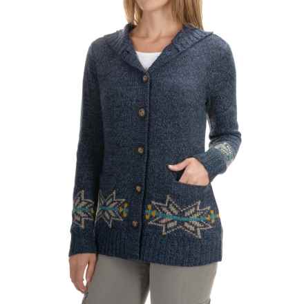 Royal Robbins Mystic Cardigan Sweater (For Women) in Deep Blue - Closeouts