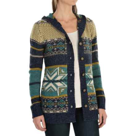 Royal Robbins Mystic Cardigan Sweater (For Women) in Indigo - Closeouts