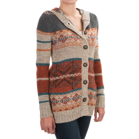 Royal Robbins Mystic Cardigan Sweater (For Women) in Oatmeal