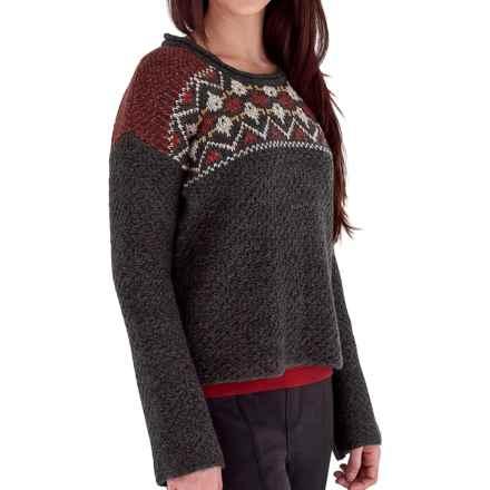 Royal Robbins Mystic Jacquard Sweater (For Women) in Petrified Oak - Closeouts