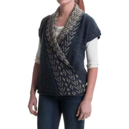 Royal Robbins Mystic Wrap Sweater Vest (For Women) in Deep Blue - Closeouts