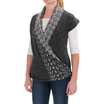Royal Robbins Mystic Wrap Sweater Vest (For Women) in Obsidian - Closeouts