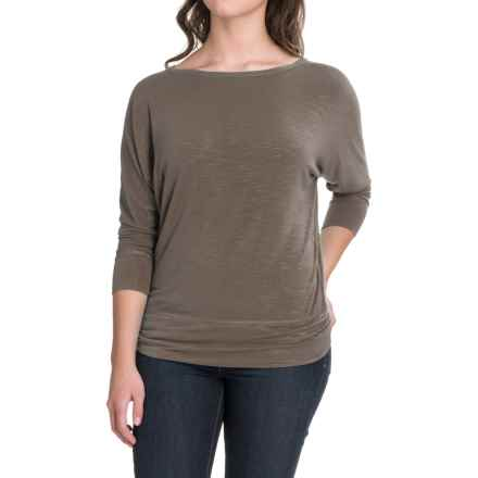 Royal Robbins Noe Dolman Shirt - Modal, 3/4 Sleeve (For Women) in Taupe - Closeouts