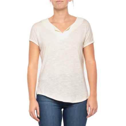 b14797d64ab Royal Robbins Noe Shirt - Short Sleeve (For Women) in Crème - Closeouts