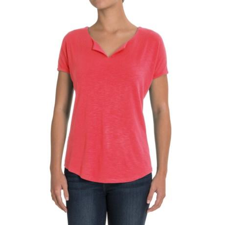 Royal Robbins Noe Shirt - Short Sleeve (For Women) in Flame