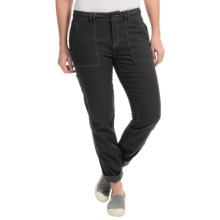 Royal Robbins Nubuck Twill Pants - UPF 50+ (For Women) in Charcoal - Closeouts