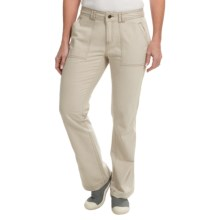 Royal Robbins Nubuck Twill Pants - UPF 50+ (For Women) in Sandstone - Closeouts
