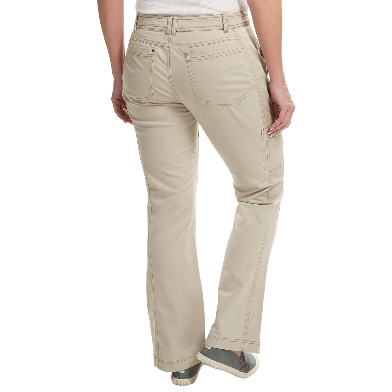 Royal Robbins Nubuck Twill Pants (For Women) - Save 55%