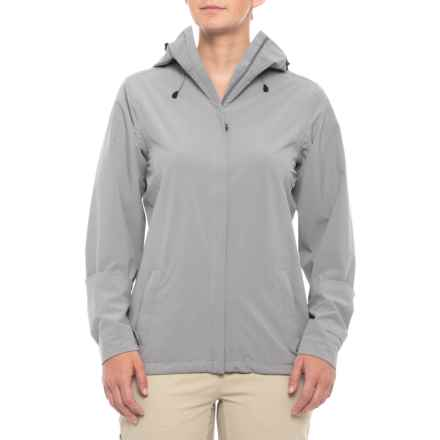 Royal Robbins Oakham Jacket - Waterproof, UPF 25+ (For Women) in Light Pewter - Closeouts