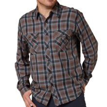 Royal Robbins Ombre Flannel Shirt - UPF 50+, Long Sleeve (For Men) in Charcoal - Closeouts
