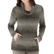 Royal Robbins Ombre Pullover Sweater - Cowl Neck (For Women) in Timber - Closeouts