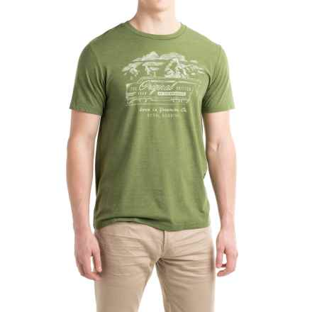 Royal Robbins Original Drifter T-Shirt - Crew Neck, Short Sleeve (For Men) in Loden - Closeouts