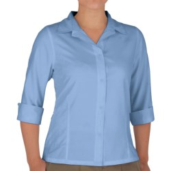 Royal Robbins Original Expedition Shirt - UPF 50+, Wrinkle Resistant, 3/4 Sleeve (For Women) in Pale Berry