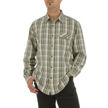 Royal Robbins Oso Plaid Shirt - Long Sleeve (For Men) in Soapstone - Closeouts