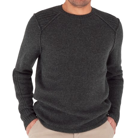 Royal Robbins Ottawa Crew Sweater (For Men) in Charcoal