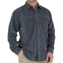 Royal Robbins Overland Shirt - Long Sleeve (For Men) in Dark Slate - Closeouts