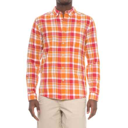 Royal Robbins Painted Canyon Plaid Shirt - Long Sleeve (For Men) in Marmalade - Closeouts