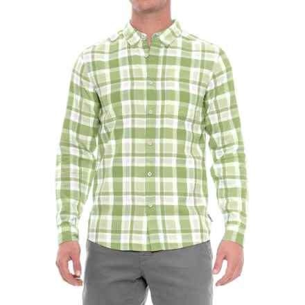 Royal Robbins Painted Canyon Plaid Shirt - Long Sleeve (For Men) in Olivine - Closeouts