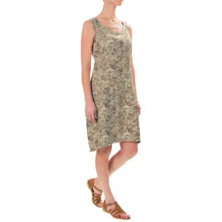 Royal Robbins Panorama Printed Dress - Sleeveless (For Women) in Khaki - Closeouts