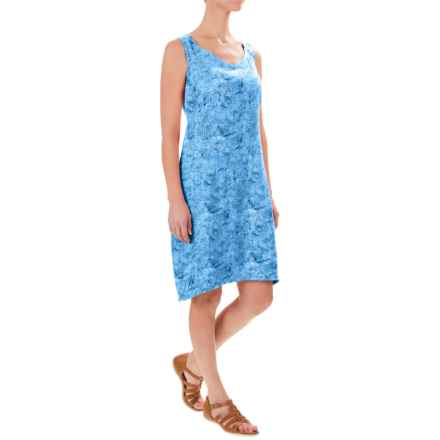 Royal Robbins Panorama Printed Dress - Sleeveless (For Women) in Marine - Closeouts