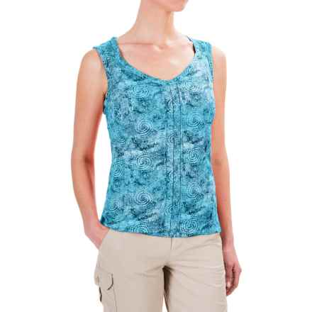 Royal Robbins Panorama Printed Tank Top (For Women) in Marine - Closeouts