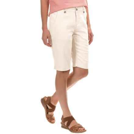 Royal Robbins Panorama Shorts - Linen-Rayon (For Women) in Creme - Closeouts