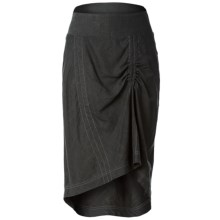 Royal Robbins Panorama Skirt - Linen-Rayon (For Women) in Obsidian - Closeouts