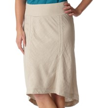 Royal Robbins Panorama Skirt - Linen-Rayon (For Women) in Soapstone - Closeouts