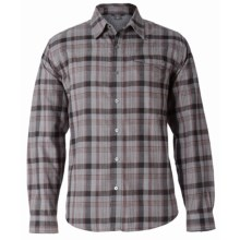 Royal Robbins Parker Flannel Shirt - Thermal, UPF 50+, Long Sleeve (For Men) in Charcoal - Closeouts