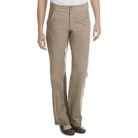Royal Robbins Paseo Traveler Pants - UPF 50+ (For Women) in Khaki