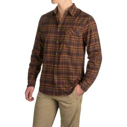 Royal Robbins Peak Performance Plaid Shirt - UPF 50+, Long Sleeve (For Men) in Walnut - Closeouts