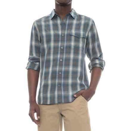 Royal Robbins Pinecrest Plaid Shirt - UPF 50+, Modal, Long Sleeve (For Men) in Poseidon - Closeouts