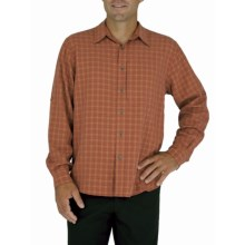 Royal Robbins Piru Plaid Shirt - UPF 30+, Long Sleeve (For Men) in Henna - Closeouts