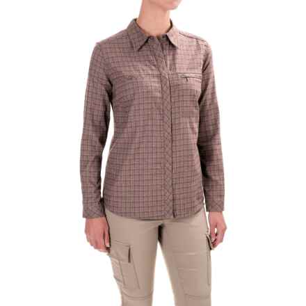 Royal Robbins Plaid Flannel Shirt - UPF 50+, Snap Front, Long Sleeve (For Women) in Laurel - Closeouts