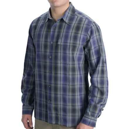 Royal Robbins Plateau Plaid Shirt - Long Sleeve (For Men) in Deep Blue Moon - Closeouts