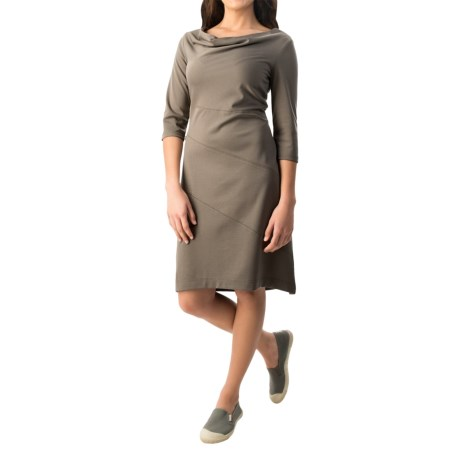 Royal Robbins Ponte Dress UPF 50+, 3/4 Sleeve (For Women)