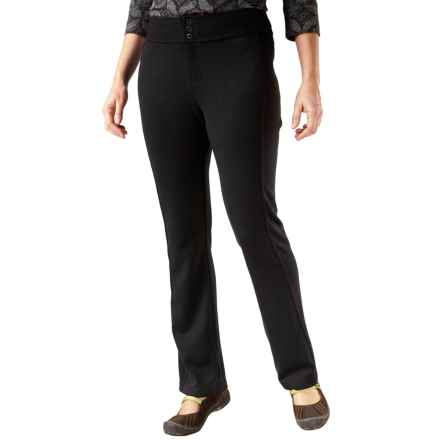 Royal Robbins Ponte Travel Pants - UPF 50+ (For Women) in Jet Black - Closeouts