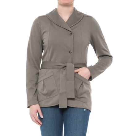 Royal Robbins Ponte Wrap Jacket - UPF 50+ (For Women) in Taupe - Closeouts