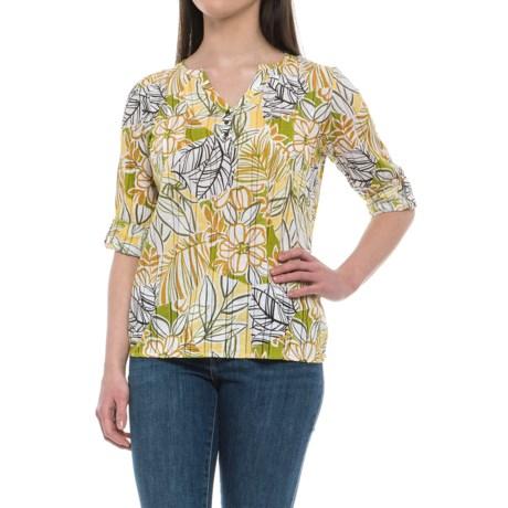 Royal Robbins Poppy Field Shirt - 3/4 Sleeve (For Women)