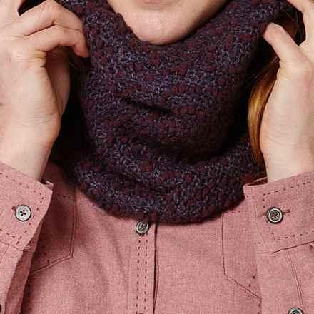 Royal Robbins Poppy Muffler - Popcorn Yarn (For Women) in Deep Royal P - Closeouts